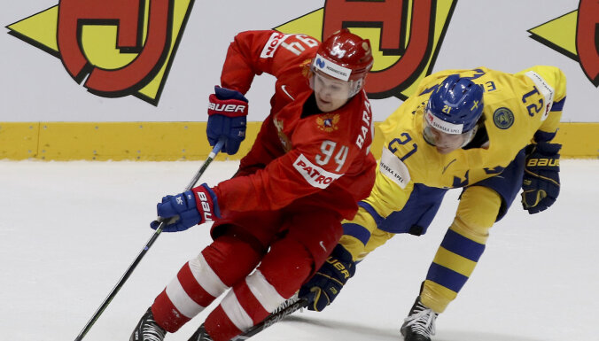 Сборная России разобралась со шведами и показала в группе стопроцентный результат