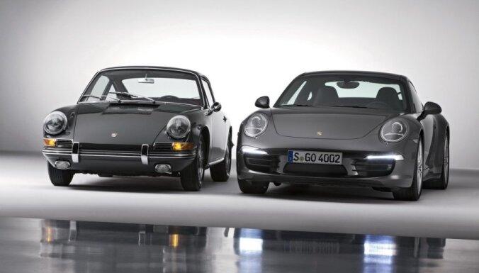 'Porsche 911': sportisko auto leģendas 50 gadu vēsture