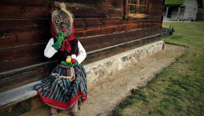 Brīvdabas muzejs piedāvā doties pa Ziemas masku taku