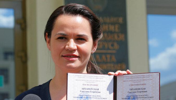 Беларусь: Тихановская заявила, что не снимется с выборов в обмен на свободу мужу