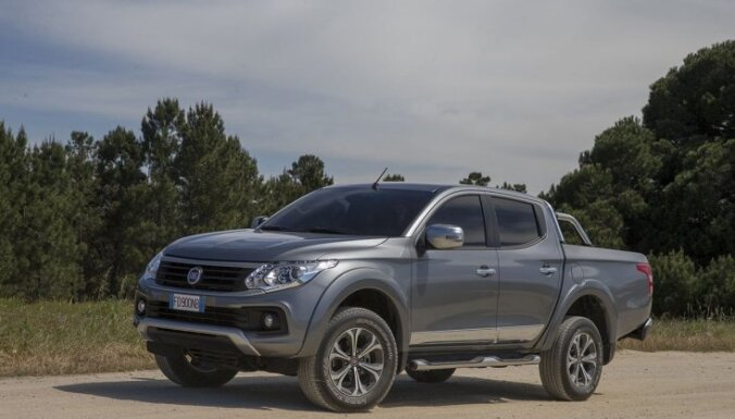 Tirdzniecībā Latvijā nonācis 'Fiat' jaunais pikaps 'Fullback'