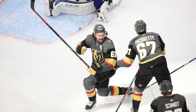 NHL komandās 'Golden Knights' un 'Blue Jackets' konstatēta Covid-19 klātbūtne