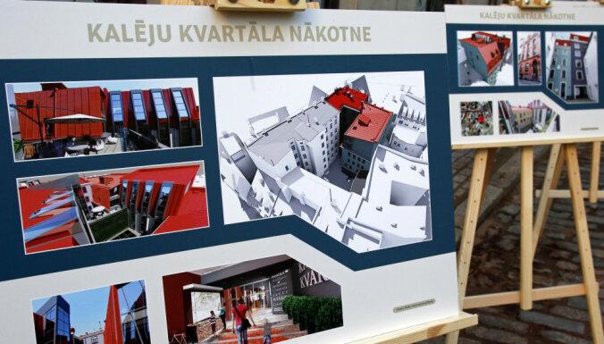 Kalēju kvartāla atjaunošanu Vecrīgā 'Baltic International Bank' neapturēs