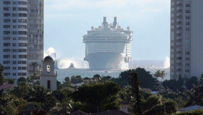 Peldošās mājas – pasaules paši lielākie kruīzu kuģi