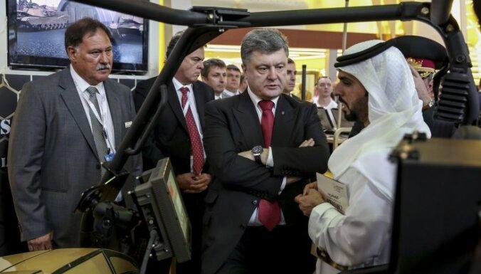 Ukraina Poroshenko, IDEX, Abu Dhabi