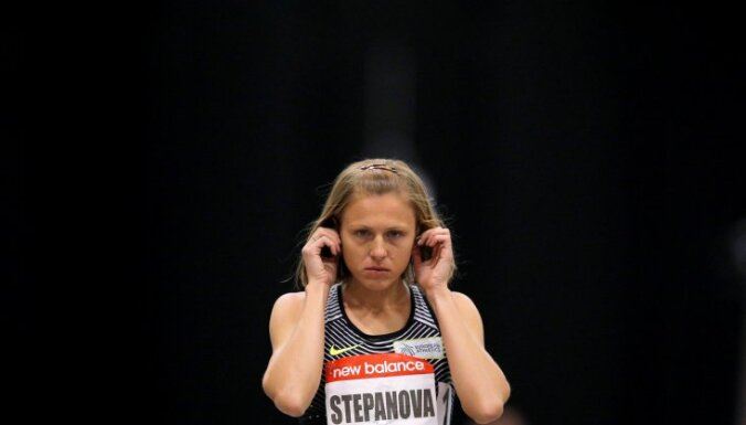 Russian whistleblower and runner Yulia Stepanova