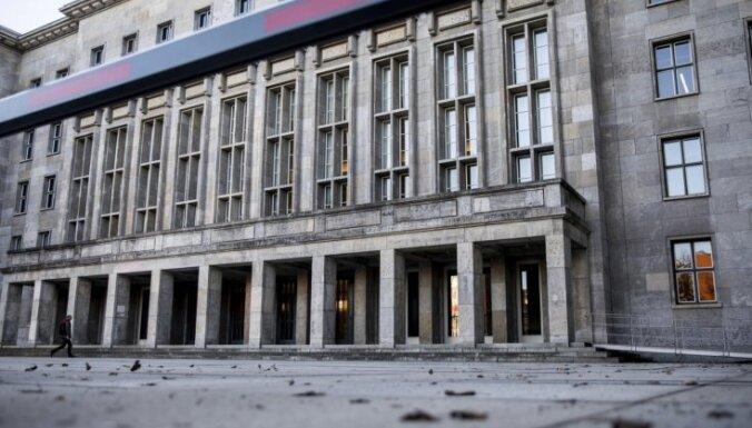 Vācijas Finanšu ministrijā atrasta paka ar sprāgstvielām