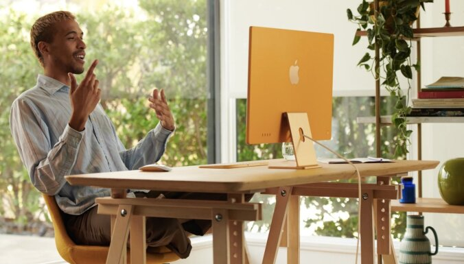 ФОТО: Apple представила новые iMac и iPad Pro с чипом M1 и маячки для поиска вещей