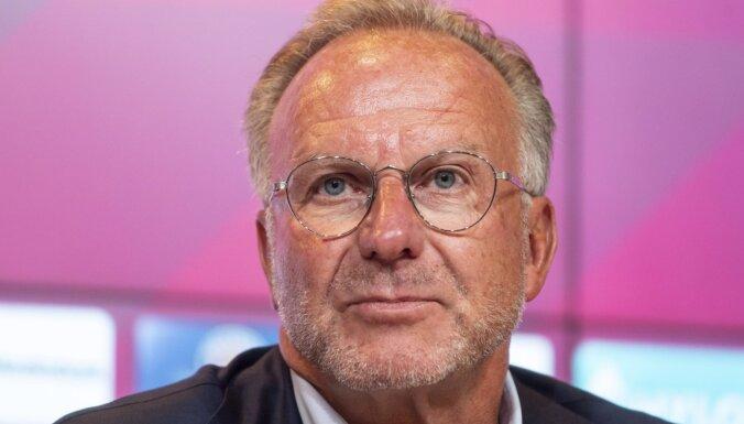 Pēc 30 gadu darba 'Bayern' vadību pamet valdes priekšsēdētājs Rummenige