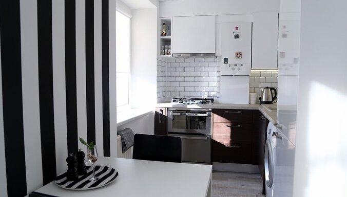 Remonts bērnības dzīvoklī: ar rūpību izlolots mājoklis Ādažos