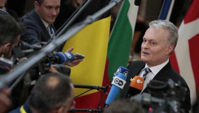 Ja Baltkrievija vajās oponentus, Lietuva varētu pārskatīt attiecības ar Minsku, norāda Nausēda