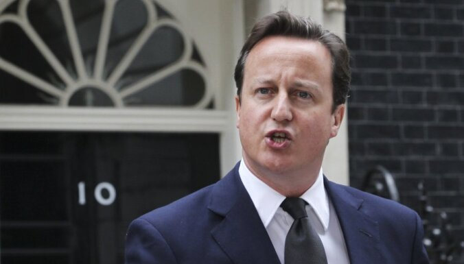 Кэмерон пообещал не отдавать Аргентине Фолкленды