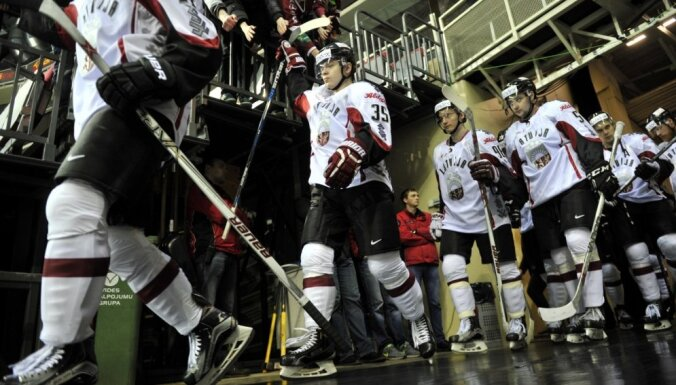 Даугавпилс впервые увидит матчи сборной Латвии по хоккею
