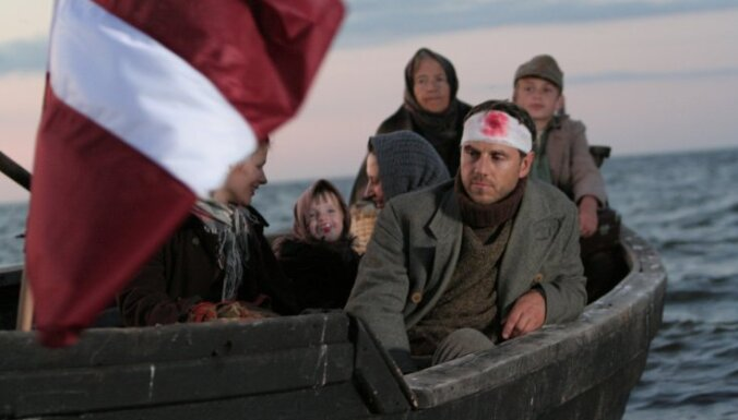 Kino 'Rīga' notiks spēlfilmas 'Dancis pa trim' pirmizrāde