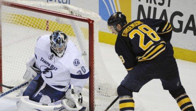 ВИДЕО: восьмой гол Земгуса Гиргенсона позволил обыграть лидера НХЛ