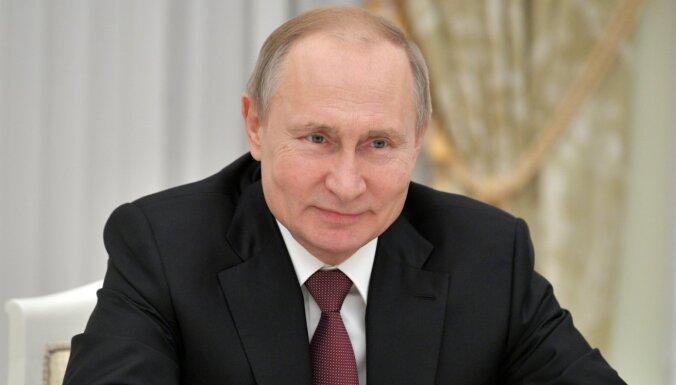 """""""Левада-центр"""": рейтинг доверия Путину упал до 25%"""