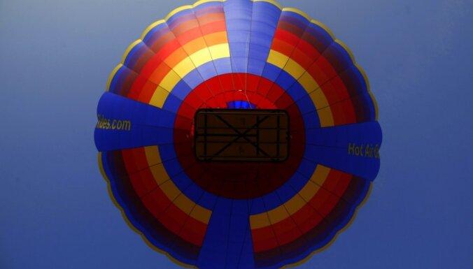 Atskats vēsturē: pirms 230 gadiem Jelgavā pacēlās gaisa balons