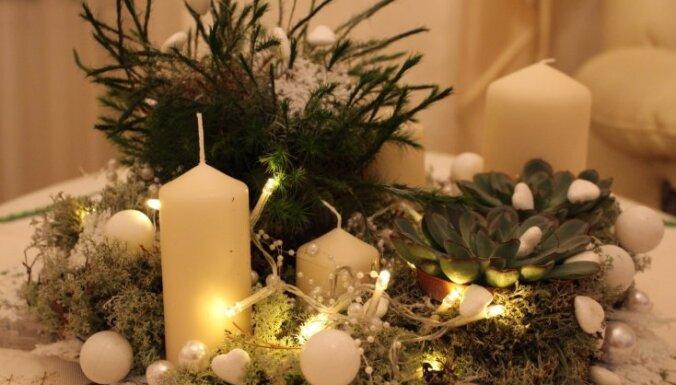 Bez uzraudzības atstātu sveču izraisīti ugunsgrēki izjaukuši svētku gaisotni