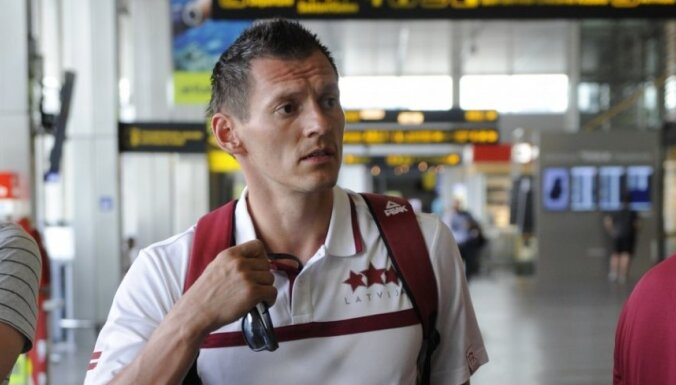 Спустя десять лет капитан сборной Латвии вернулся играть на родину