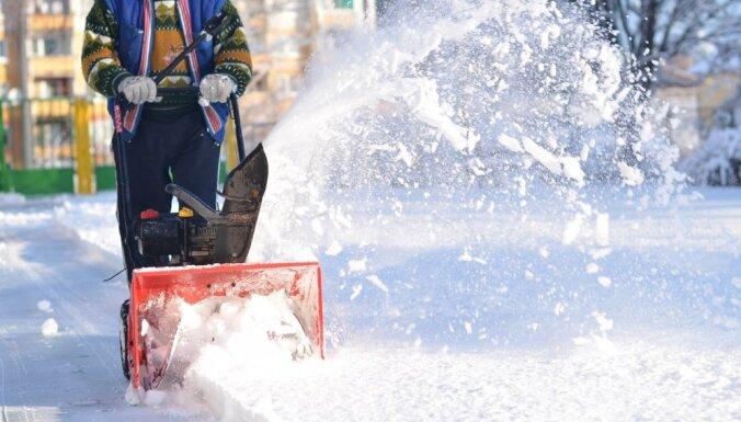 Рижская дума планирует изменить систему зимнего содержания улиц