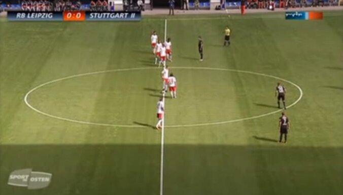 RB Leipzig - VfB Stuttgart II,  futbols