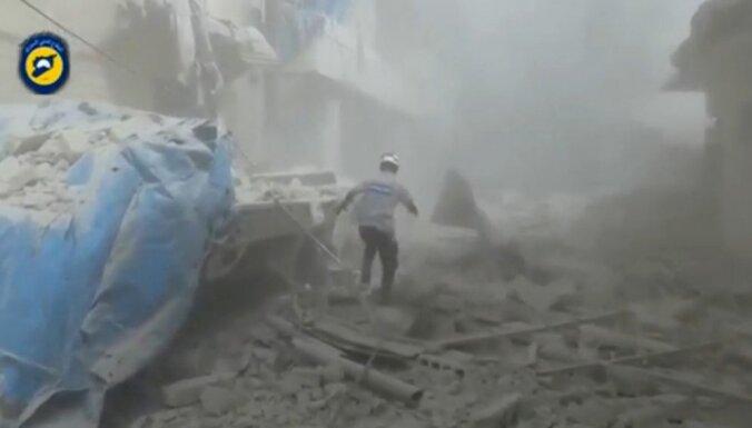 ANO: Sīrijas režīms turpina izmantot ķīmiskos ieročus