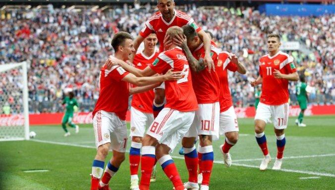 Сборная России одержала первую победу на чемпионатах мира с 2002 года