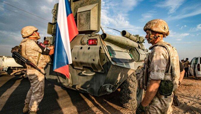 Sīrijā no Čečenijas ieradušies 300 militāro policistu