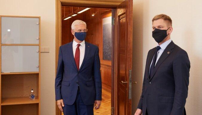 'Laiks rādīs' – saka Kariņš par ministra Eglīša atbilstību amatam