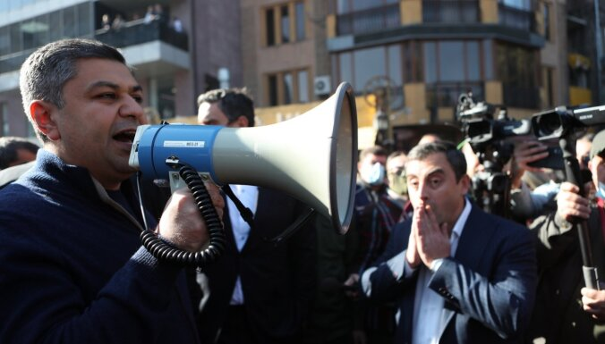 Opozīcijas līderis apsūdzēts Armēnijas premjera slepkavības plānošanā