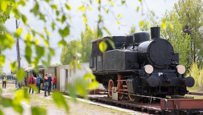 Latvijā nedēļu būs apskatāms autentiski rekonstruēts Igaunijas bruņuvilciens