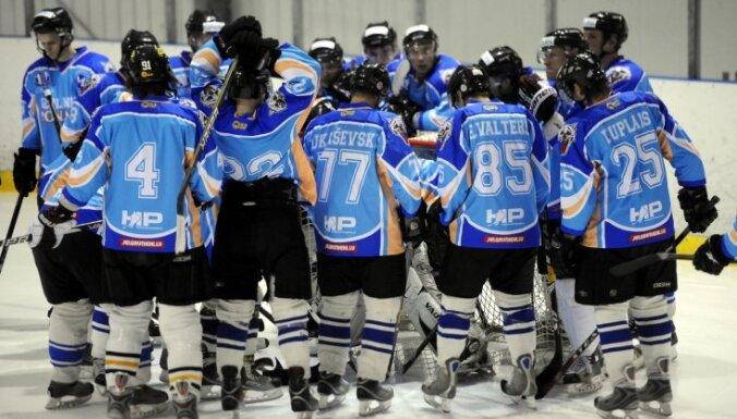 Latvijas hokeja čemionātā uzvaras izcīna 'SMScredit.lv', 'JLSS/Zemgale' un 'Ozolnieki-Monarch'