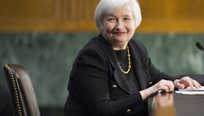 ASV centrālās bankas vadītāja amatā pirmo reizi vēsturē apstiprina sievieti