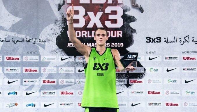 Miezis kļuvis par pasaules vadošo 3x3 basketbolistu