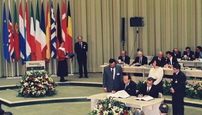 Так начиналась еврозона: 25 лет Маастрихтскому договору