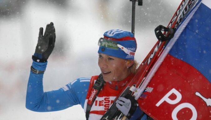 Зайцева стала самой титулованной российской биатлонисткой