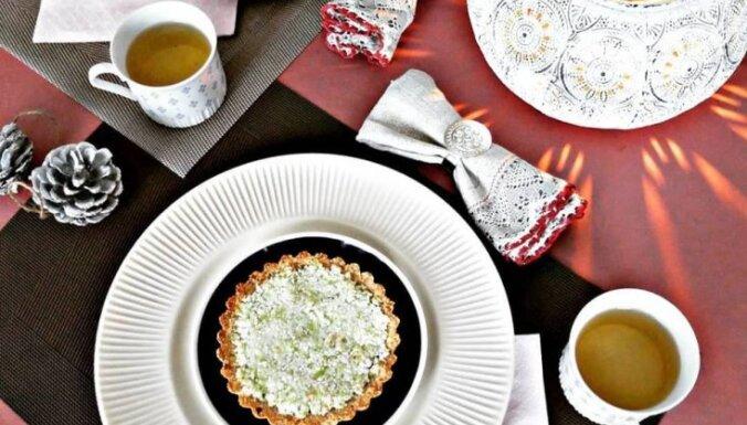 Тарталетки с цветной капустой и сельдереем