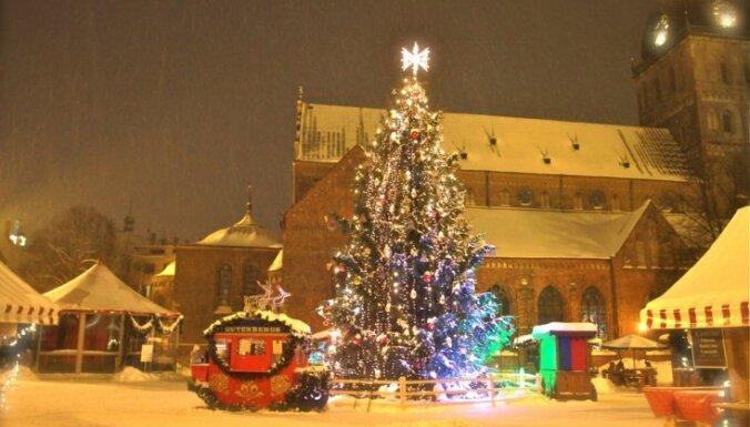 Новый год: чем заняться на улицах Риги