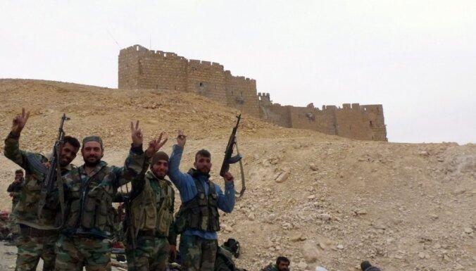 Sīrijas armija pilnībā atkarojusi seno Palmīru
