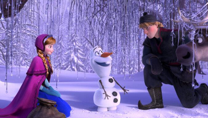 'Ledus sirds 2' kļūst par visu laiku pelnošāko animācijas filmu