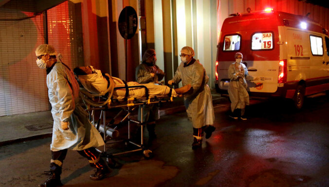 Latīņamerikā Covid-19 upuru skaits pārsniedz miljonu