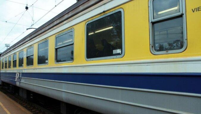 Notriekta dzīvnieka dēļ kavējas vilciens Valga – Rīga