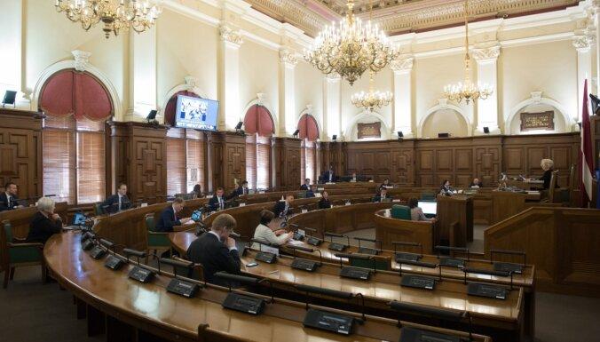 Saeima apstiprina Valsts kontroles padomes locekli un Augstākās tiesas tiesnesi