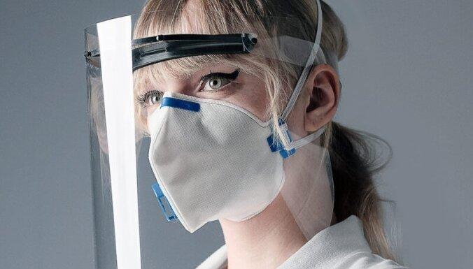Вступает в силу требование носить щитки для лица только вместе с маской