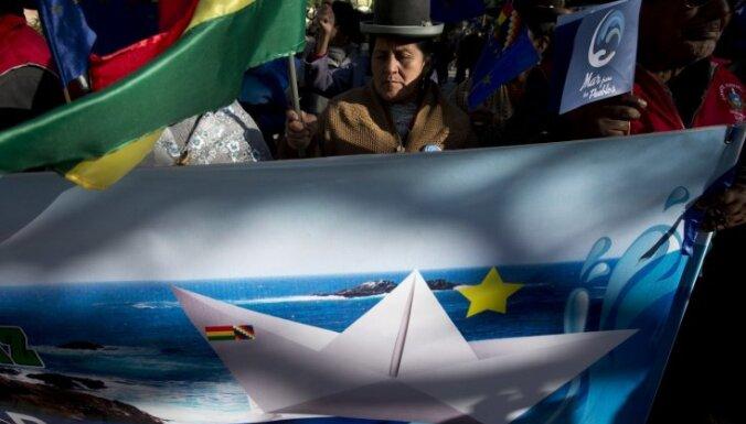 ANO tiesa noraida lietu par Bolīvijas vēlmi piekļūt Klusajam okeānam