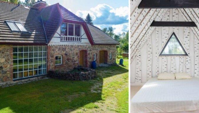 Foto: Laukakmens māja Igaunijā, kas pārvērsta brīnišķīgā brīvdienu paradīzē