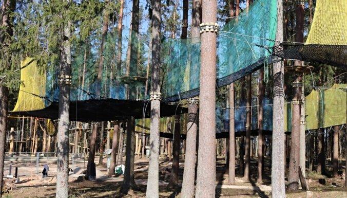 LVM dabas parkā Tērvetē šogad atklās tīklu parku un īpašas šķēršļu trases