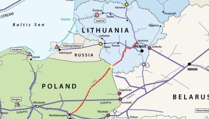 Литовцы проверят экономическую выгоду газопровода в Польшу