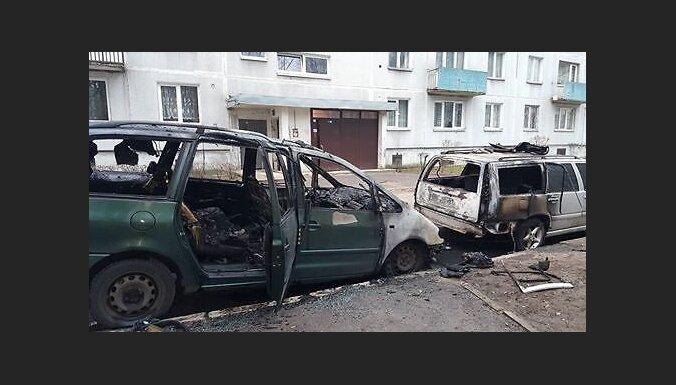 Читатель: В Иманте кто-то активно поджигает машины местных жителей