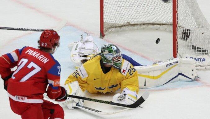 ВИДЕО, ФОТО: Сборная России обыграла шведов и вышла на Германию